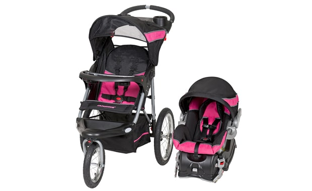 Baby Trend-Expedition Jogger Travel System-Bubble Gum