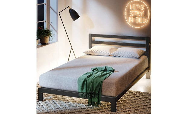 Zinus Arnav AZ-ASMPH-20Q Modern Studio Bed Frame