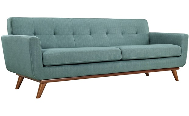 Modway Engage Modern Mid-Century Upholstered Sectional Sofa