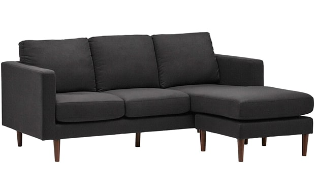 Rivet Revolve Upholstered Modern Amazon Brand Sectional Sofa