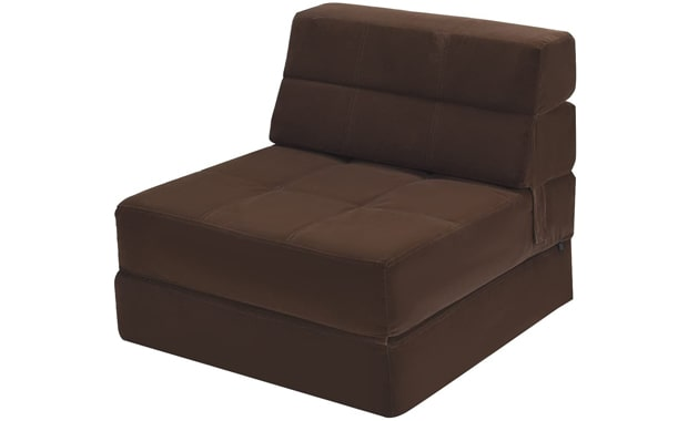 Giantex Convertible Fold Down Memory Foam Sofa Bed