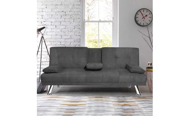 MIERES Convertible Modern Sofa Bed