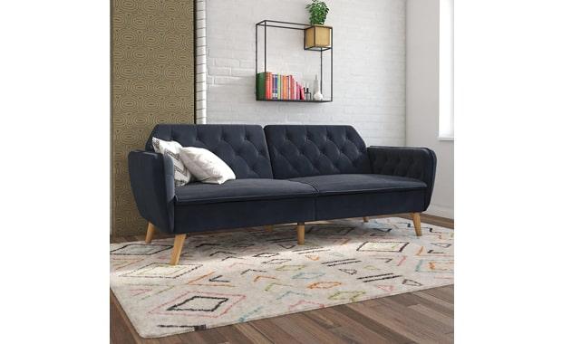 Novogratz Tallulah Futon Memory Foam Sofa Bed