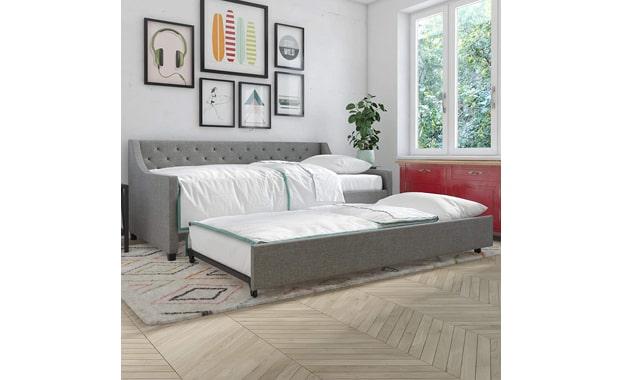 Novogratz Upholstered Her Majesty Sofa Bed