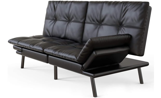 Milemont Futon Memory Foam Sofa Bed