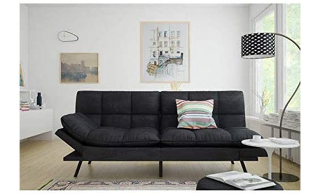 Mainstay Futon Memory Foam Sofa Bed