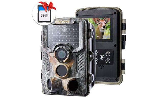 Crenova 1080P 20MP Waterproof Scouting Hunting Trail Camera