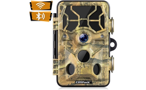 Campark T80 Wi-Fi 1296P 20MP Motion Activated Trail Camera