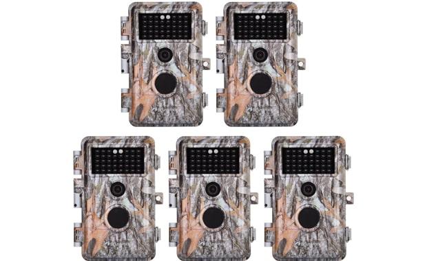 BlazeVideo 20MP 5-Pack Hunting Wildlife Trail Camera
