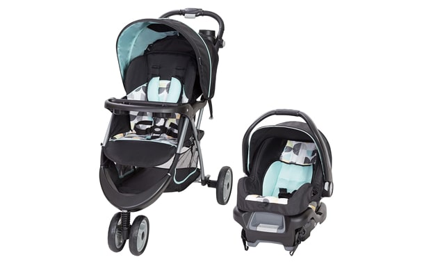 Baby Trend-EZ Ride 35 Travel System-Doodle Dots