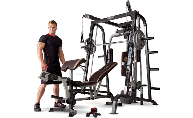 Marcy Smith Total Body Workout Machine Home Gym