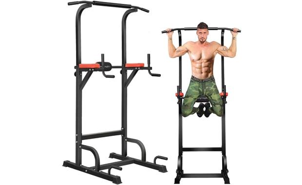 BangTong&Li Multi-Function Adjustable Power Tower Home Gym