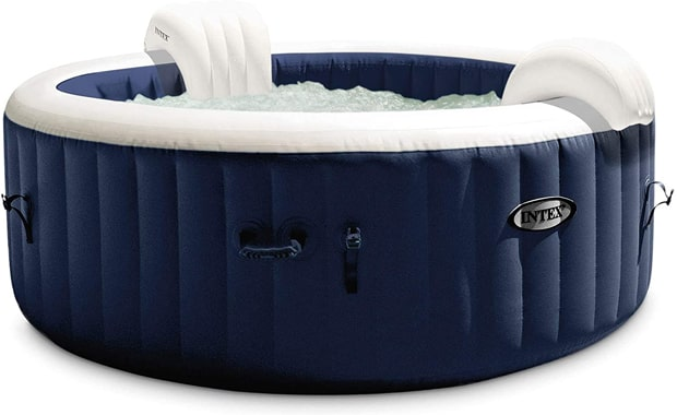 Intex-28429E PureSpa Plus Four Person-Portable Inflatable Hot Tub Spa