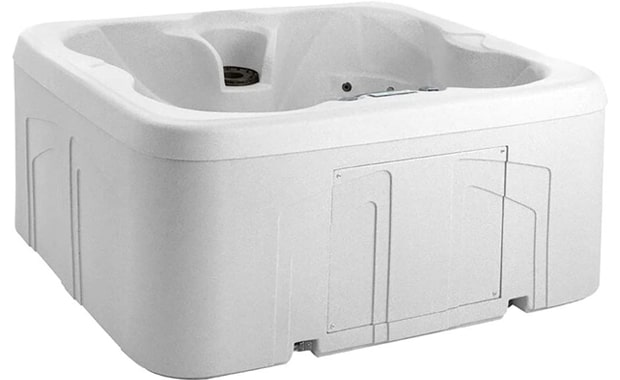 Life Smart-4 Person Energy Efficient Plug & Play Whirlpool Bath