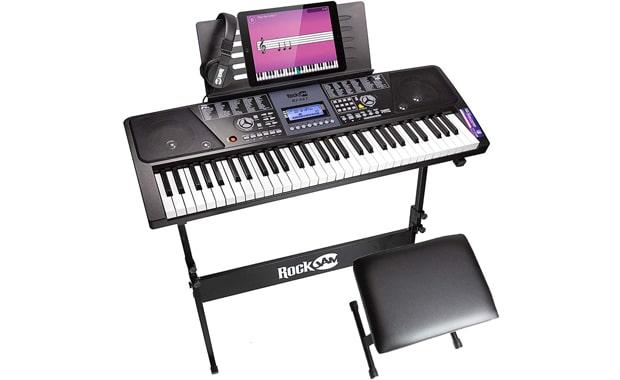 RockJam RJ561 61-Key SuperKit Keyboard Piano