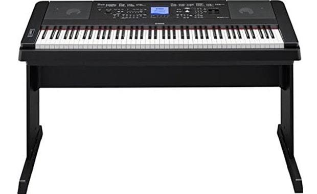 YAMAHA 88-Key DGX660B Weighted Digital Keyboard Piano