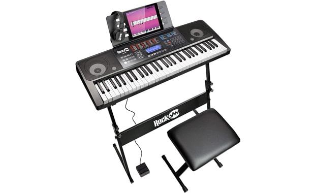 RockJam 61 Key RJ761 Interactive Teaching Keyboard Piano
