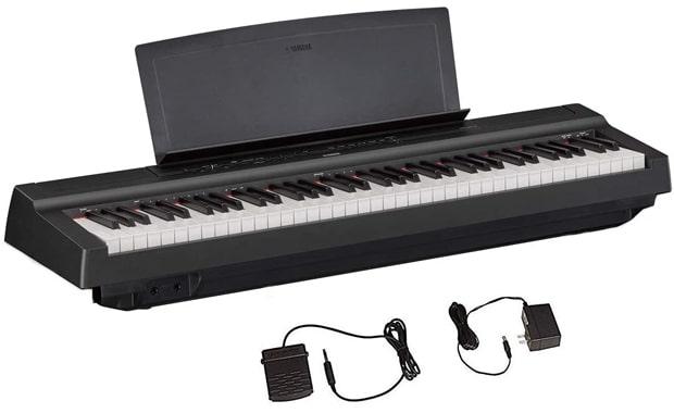 Yamaha 73-Key P121 Compact Digital Keyboard Piano