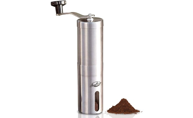 JavaPresse Adjustable Setting Manual Coffee Grinder