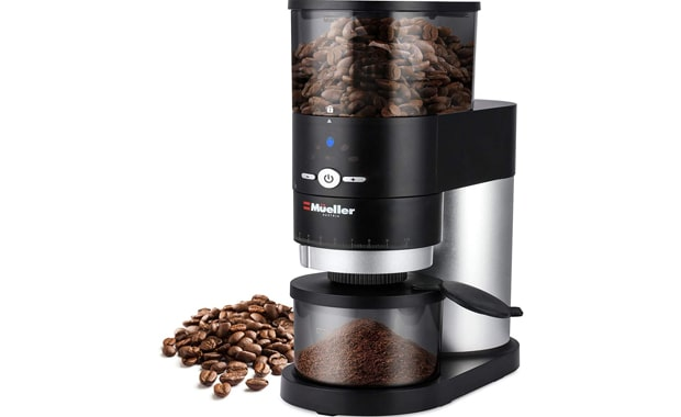 Mueller Conical Burr Ultra-Grind Professional Coffee Grinder