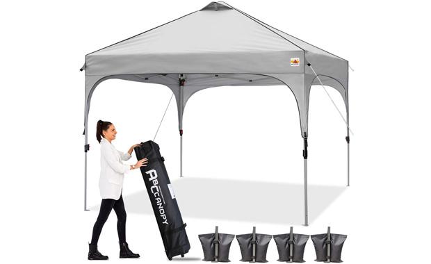 ABCCANOPY Pop Up Super Compact Portable Canopy Tent