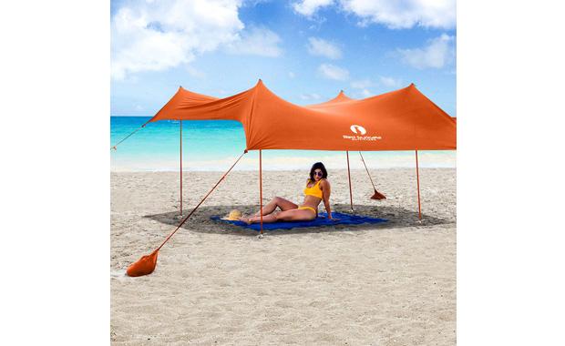 Red Suricata Sun Shade UPF50 Canopy Tent