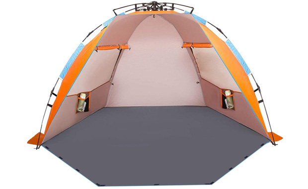 Oileus Sun Shade Portable X-Large Beach Tent