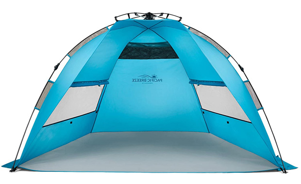 Pacific Breeze UPF50+ Easy Setup Portable Beach Tent
