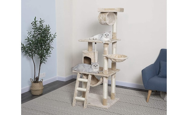 """62"""" Go-Pet-Club F67 Cat Tree"""