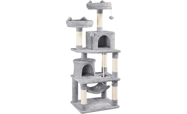 "YAHEETECH Cat Towers Cat Tree 62.2"" Cat Condo for Cats & Kittens"