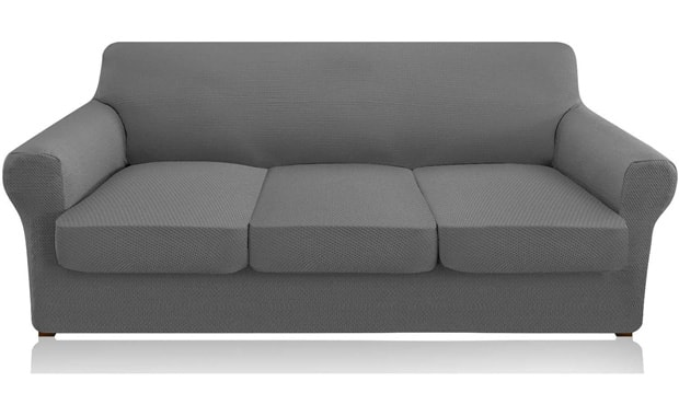Granbest High Stretch 4 Piece Couch Cover