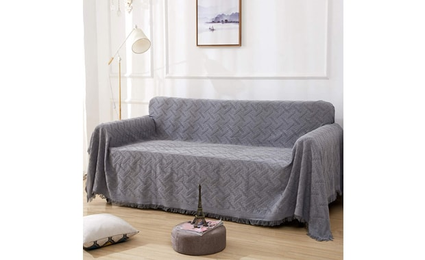 RHF Geometrical Sectional Sofa Couch Cover