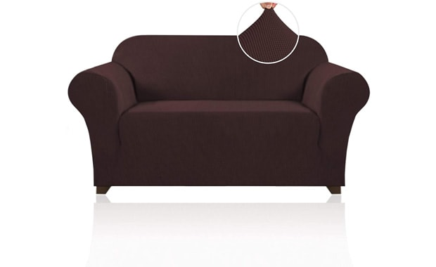 PrinceDeco Stretch 1 Piece Sofa Slipcover