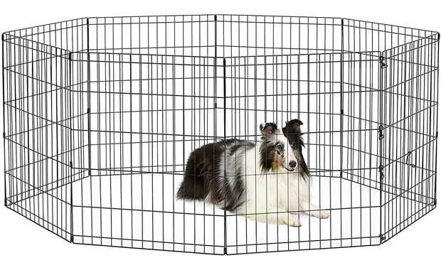 Metal Foldable Exercise Penby NewWorld Pet Product