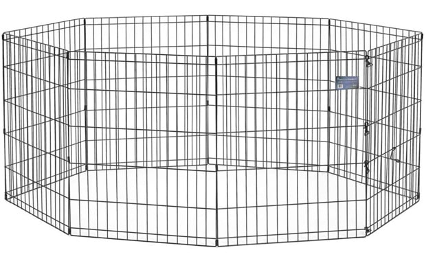 MidWest Homes Metal Folding Exercise Pen for Pets