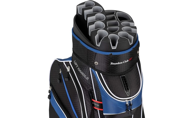 Founders Club 14 Divider Pemium Golf Cart Bag