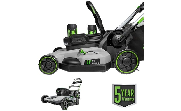 EGO Power+-LM2142SP Cordless Electric Dual-Port-Walk Behind Lawn Mower
