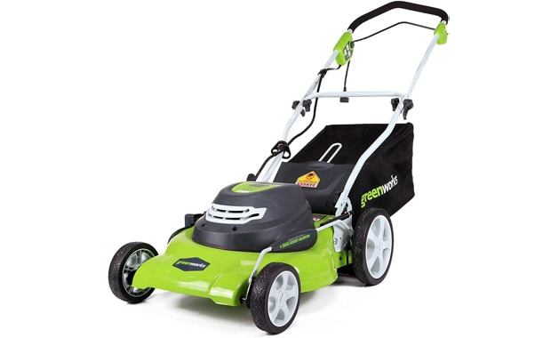 Greenworks-20-Inch 3-in-1 12 Amp Electric Corded Lawn Mower