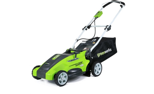Greenworks-16-Inch 10 Amp Corded Electric Lawn Mower