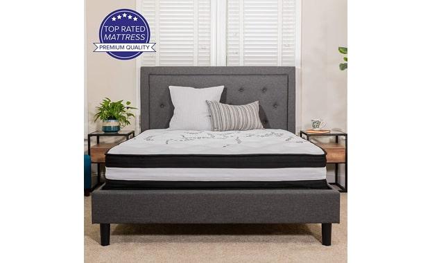 "Flash Furniture 12"" Capri Comfortable Twin Mattress"