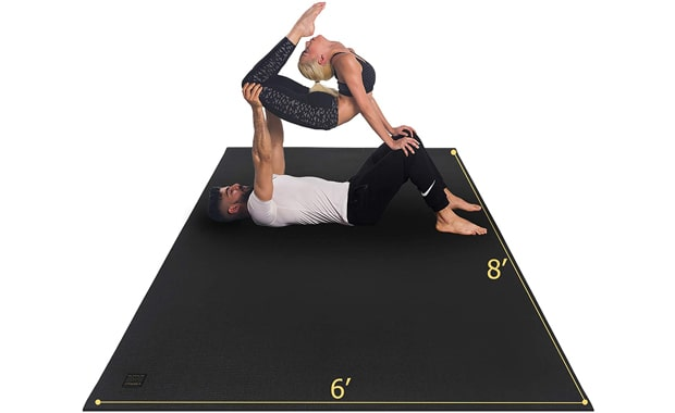 GXMMAT Thick Workout Extra Large Non Toxic Yoga Mat