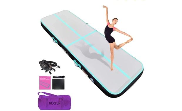 HIJOFUN Air Track Premium Tumbling Gymnastics Inflatable Mat
