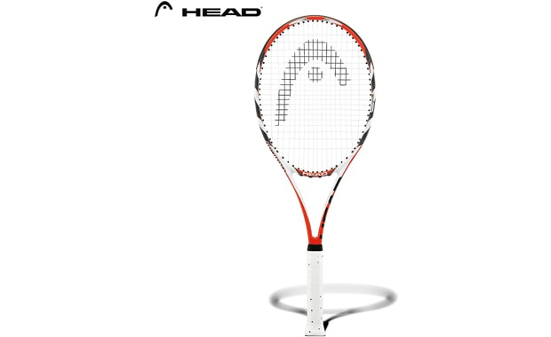 HEAD Strung Radical MicroGel Tennis Racquet