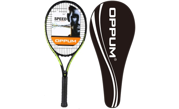 "Oppum 27"" New Graphene Full 100% Carbon Pro Racket"