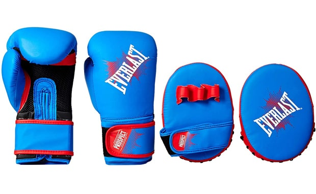 Everlast Youth Prospect Boxing Mitts & Gloves