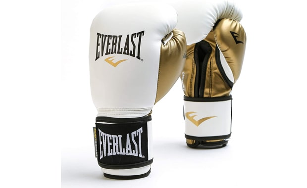Everlast Powerlock Synthetic leather Boxing Gloves