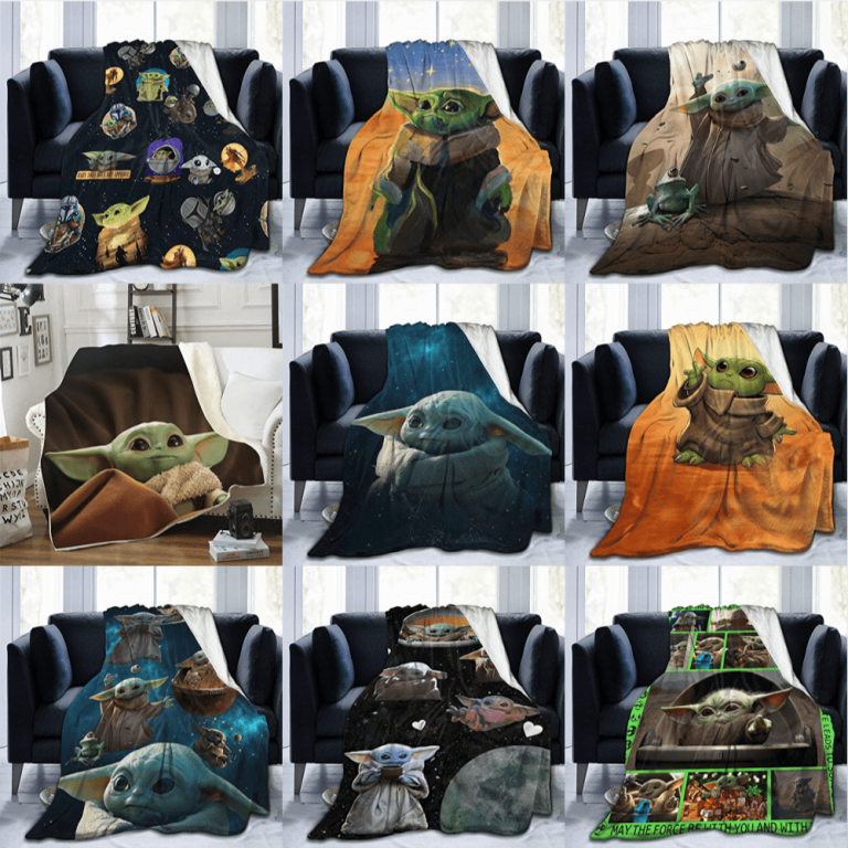 Best Baby Yoda Blanket