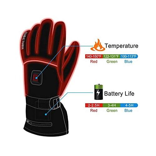 Best Application: HEAT WARMER Unisex Heated Gloves