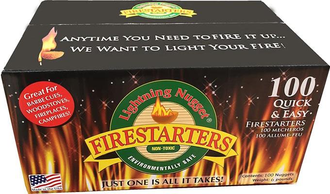 Lightning Nuggets Super Economy N100SEB Fire Starter