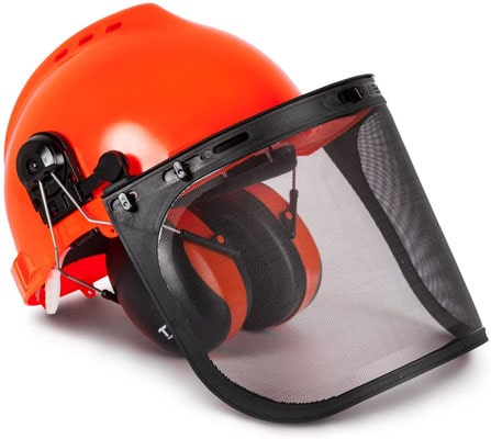 Best Overall: TR Industrial Forestry Safety TR88011 Pro Hard Hat